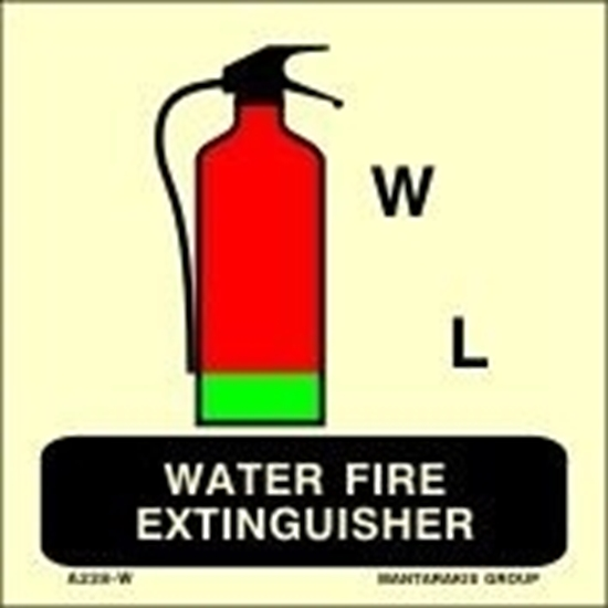 Picture of WATER FIRE EXTINGUISHER 15X15