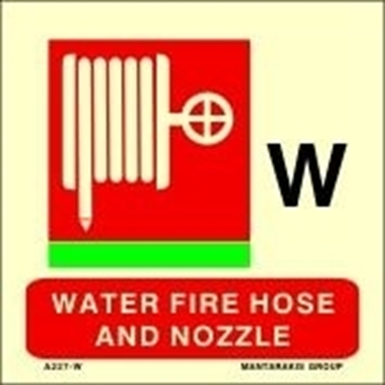 Εικόνα από WATER FIRE HOSE AND NOZZLE 15X15