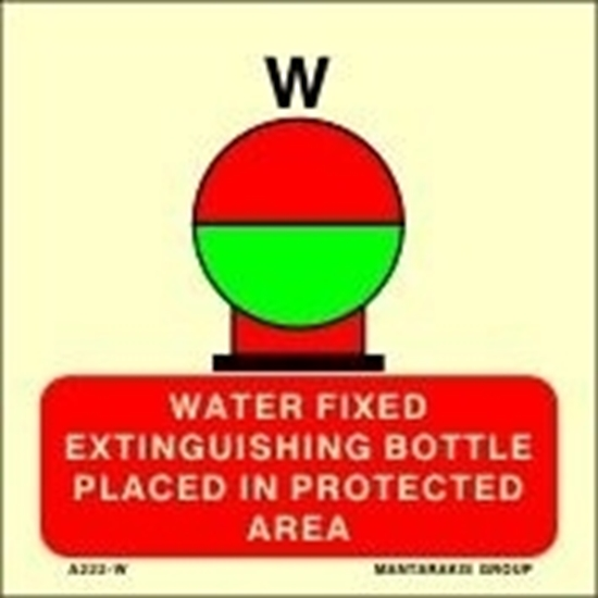 Снимка на WATER FIXED EXTING.BOT.PLAC.IN PROTEC.AREA15X15