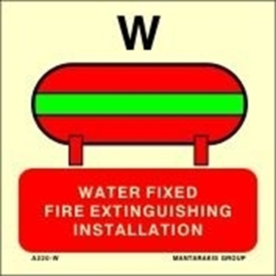 Picture of WATER FIXED FIRE EXTINGUISHING INSTALL.15X15