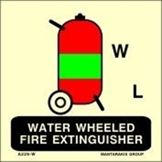Picture of WATER WHEELED FIRE EXTINGUISHER 15X15