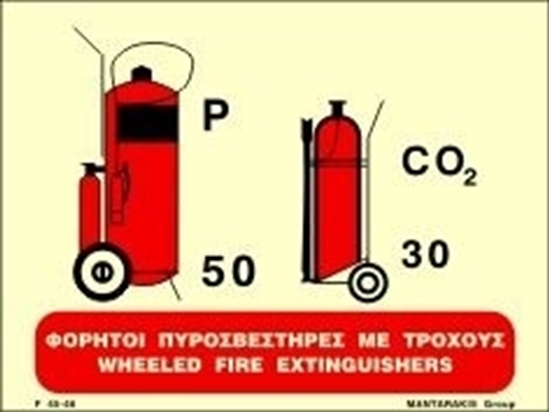 Εικόνα από WHEELED FIRE EXTINGUISHERS 15X20