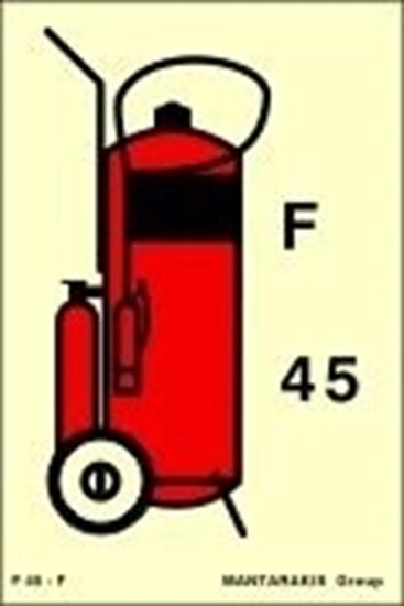 Снимка на WHEELED FOAM FIRE EXTINGUISHER (F45) 15X10