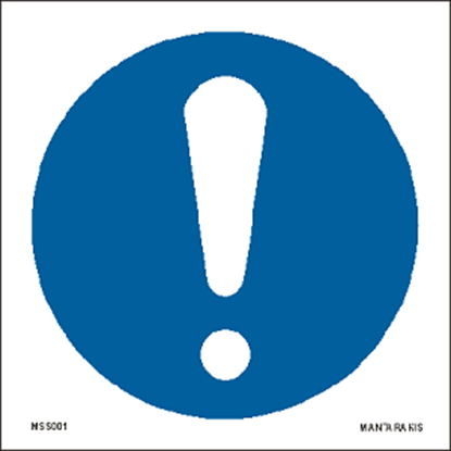 Снимка на General mandatory action sign 15 x 15