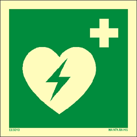 Picture of Automated external heart defibrillator 15 x 15