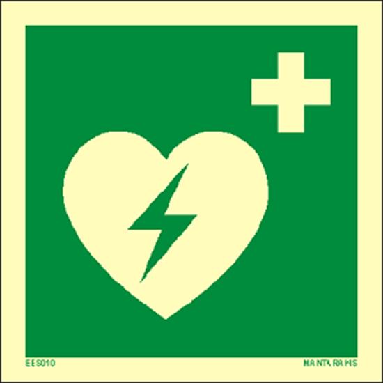 Снимка на Automated external heart defibrillator 15 x 15