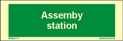 Picture of Text Assembly Station 5 x 15