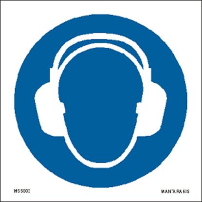 Εικόνα της Wear ear protection 15 x 15