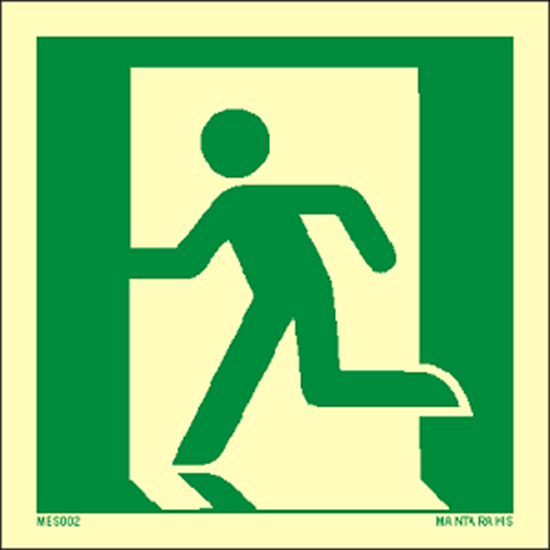 Picture of Emergency Exit (left hand) 15 x 15