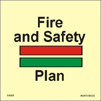 Picture of Fire & Safety Plan 15 x 15