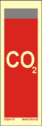Picture of Text CO2 15 x 5