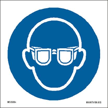 Εικόνα της Wear eye protection 15 x 15
