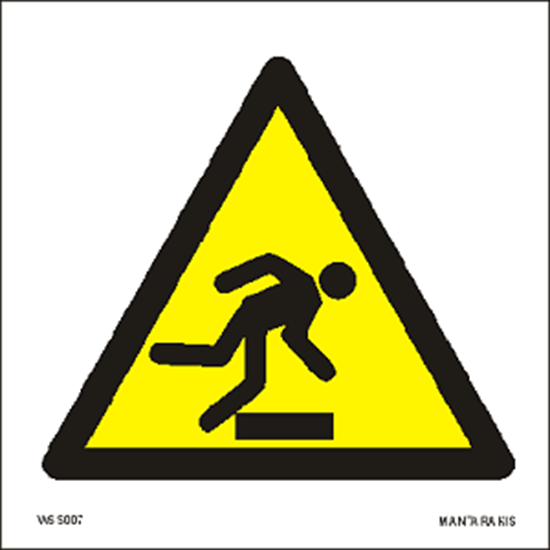 Εικόνα από Warning  Floor level obstacle 15 x 15