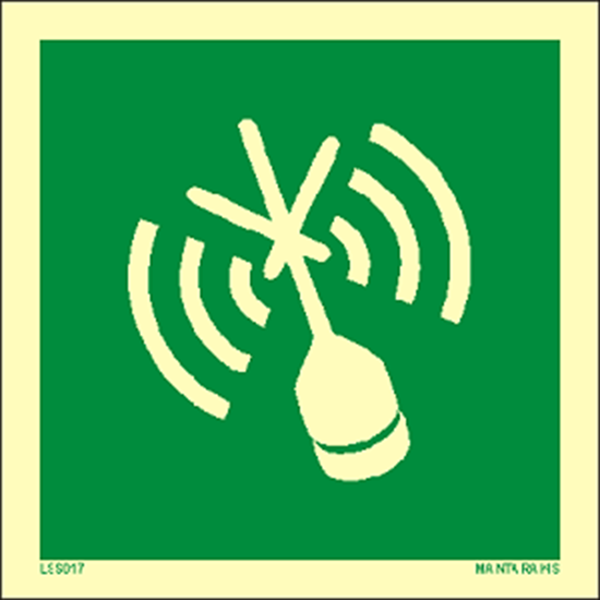 Снимка на Emergency Position Indicating Radio Beacon (EPIRB) 15 x 15