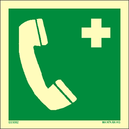 Εικόνα της Emergency telephone 15 x 15