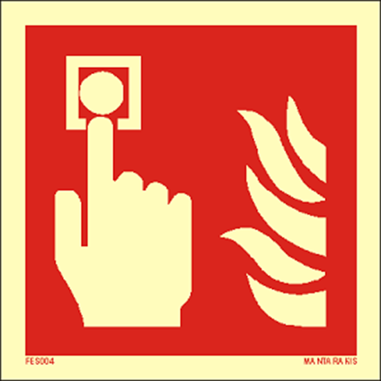 Picture of Fire alarm call point 15 x 15