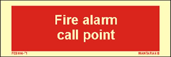 Εικόνα από Text Fire Alarm Call Point 5 x 15