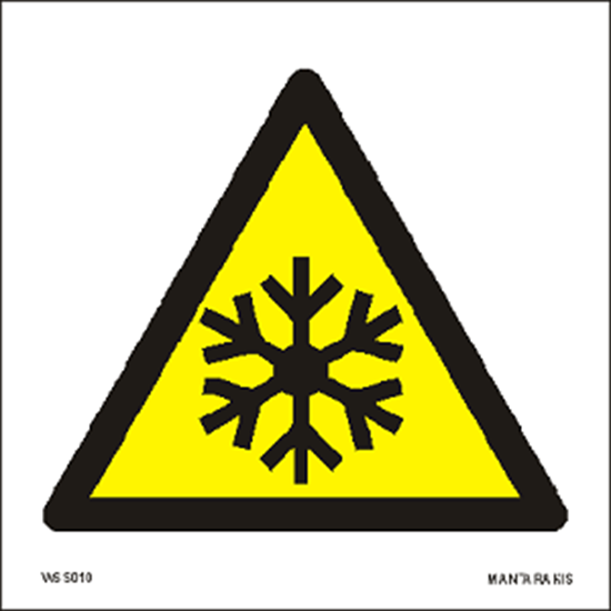 Εικόνα από Warning Low temperature/ freezing conditions 15 x 15
