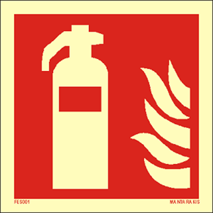 Picture of Fire extinguisher 15 x 15