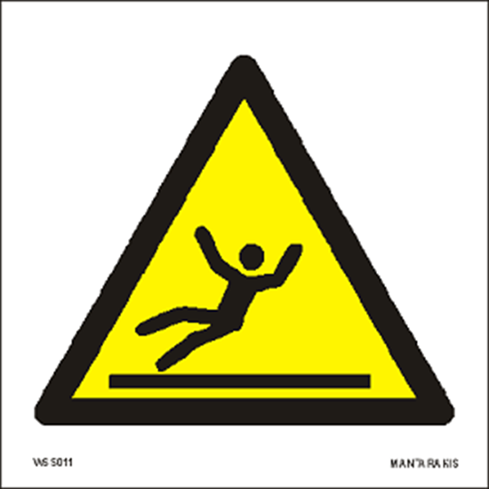 Снимка на Warning Slippery surface 15 x 15