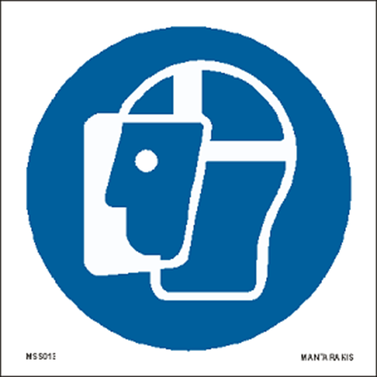 Picture of Wear face shield 15 x 15