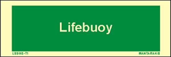 Снимка на Text Lifebuoy 5 x 15