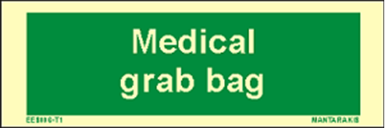 Снимка на Text Medical Grab Bag 5 x 15