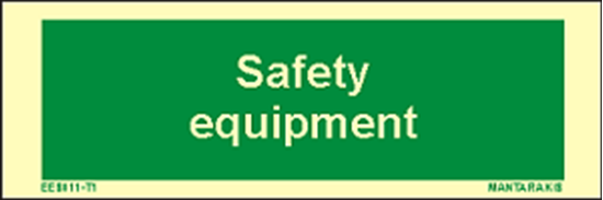 Снимка на Text Safety Equipment 5 x 15