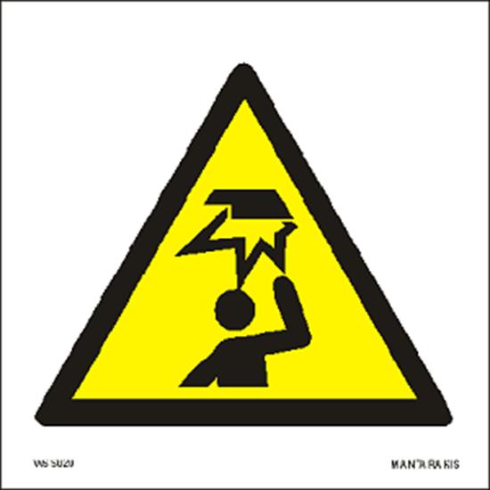Εικόνα από Warning Overhead obstacle 15 x 15