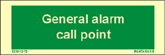 Снимка на Text General Alarm Call Point 5 x 15