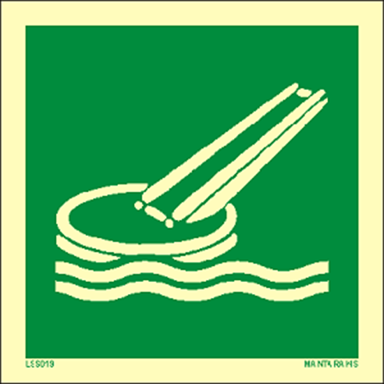Picture of Marine evacuation system (slide) 15 x 15