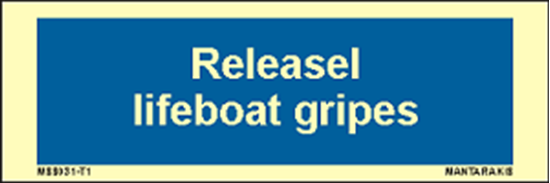 Снимка на Text release lifeboat gripes 5 x 15