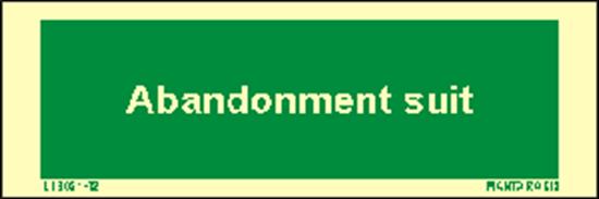 Снимка на Text Abandonment suit 5 x 15